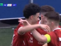 Manchester City U19 1:1 Liverpool U19