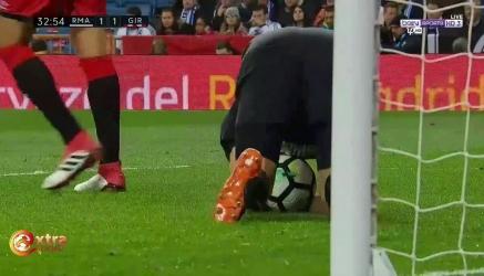 Cztery gole Ronaldo z Gironą! [Filmik]