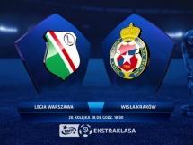Legia Warszawa 0:2 Wisła Kraków