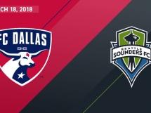 FC Dallas - Seattle Sounders 3:0