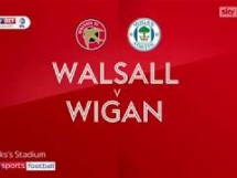 Walsall - Wigan Athletic 0:3