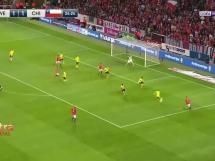 Szwecja 1:2 Chile