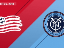 New England Revolution 2:2 New York City FC