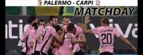 US Palermo 4:0 Carpi