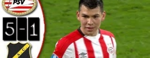PSV Eindhoven 5:1 NAC Breda