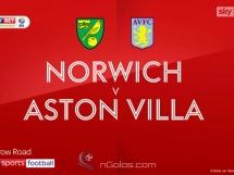 Norwich City 3:1 Aston Villa