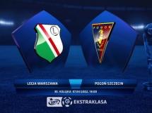 Legia Warszawa 3:0 Pogoń Szczecin
