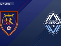 Real Salt Lake 2:1 Vancouver Whitecaps