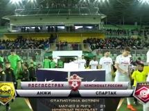 Andżi Machaczkała 1:4 Spartak Moskwa