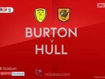 Burton Albion 0:5 Hull City