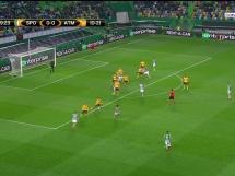 Sporting Lizbona 1:0 Atletico Madryt