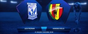 Lech Poznań 0:1 Korona Kielce