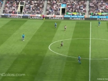 Newcastle United 2:1 Arsenal Londyn