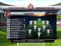 Urał Jekaterynburg 2:1 Spartak Moskwa