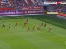 Kaiserslautern 0:1 Dynamo Drezno