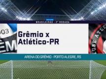 Gremio 0:0 Atletico Paranaense