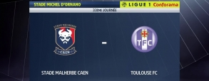 Caen 0:0 Toulouse