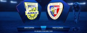 Arka Gdynia 1:5 Piast Gliwice