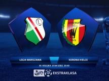 Legia Warszawa 3:1 Korona Kielce
