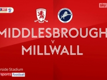 Middlesbrough 2:0 Millwall