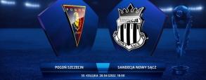 Pogoń Szczecin 2:0 Sandecja Nowy Sącz