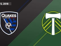 San Jose Earthquakes 0:1 Portland Timbers