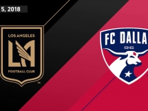 Los Angeles FC 1:1 FC Dallas