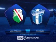 Legia Warszawa 3:2 Wisła Płock