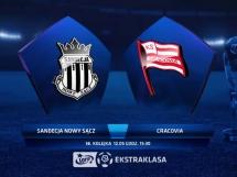 Sandecja Nowy Sącz 0:1 Cracovia Kraków