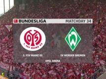 FSV Mainz 05 1:2 Werder Brema