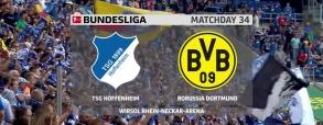 Hoffenheim 3:1 Borussia Dortmund