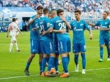 Zenit St. Petersburg 6:0 SKA Chabarowsk