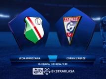 Legia Warszawa 2:0 Górnik Zabrze