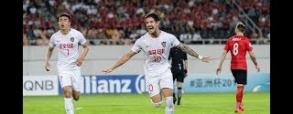 Guangzhou Evergrande 2:2 Tianjin Quanjian