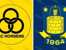 Horsens 2:2 Brondby IF
