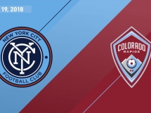 New York City FC 4:0 Colorado Rapids