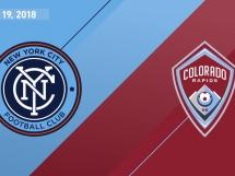 New York City FC 4:0 Colorado Rapids