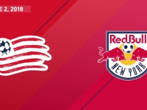 New England Revolution 2:1 New York Red Bulls