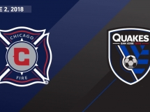 Chicago Fire 2:1 San Jose Earthquakes