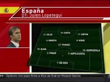 Hiszpania 1:1 Szwajcaria