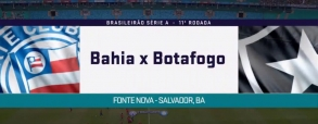 Bahia 3:3 Botafogo