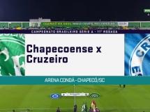 Chapecoense 2:0 Cruzeiro