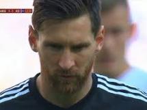 Messi nie trafił rzutu karnego!