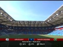 Urugwaj 1:0 Arabia Saudyjska
