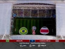 Brazylia 2:0 Kostaryka