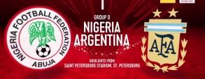 Nigeria 1:2 Argentyna