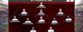 Anglia 0:1 Belgia