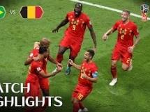 Brazylia 1:2 Belgia