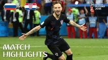 Koniec marzeń Rosjan! Chorwaci grają dalej! [Filmik]