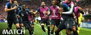 Francja 4:2 Chorwacja